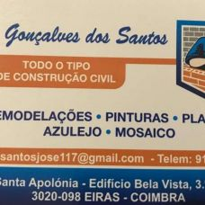 José Gonçalves dos Santos - Empreiteiros / Pedreiros - Coimbra