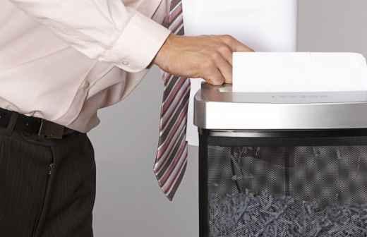 Destruição de Documentos - Secretariado