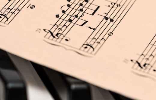 Gravação de Música - Trofa