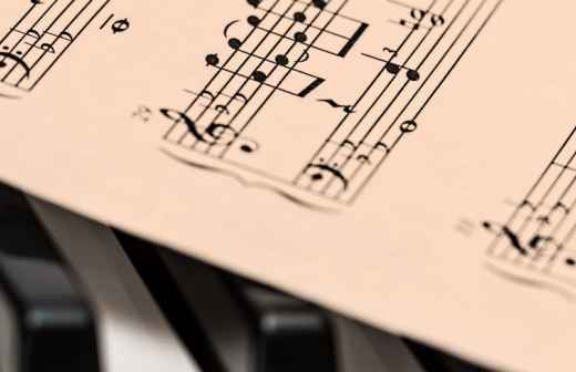Gravação de Música - Músicas