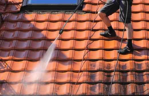 Limpeza de Telhado - Telhado Rígido