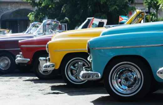 Aluguer de Carros Clássicos - Motorista