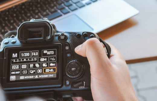 Qual é o preço de Fotografia? Fixando