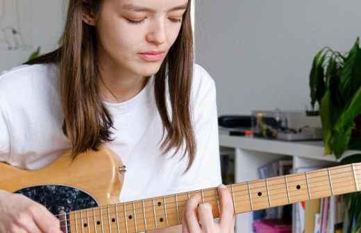 Aulas de Guitarra Online - Bragança
