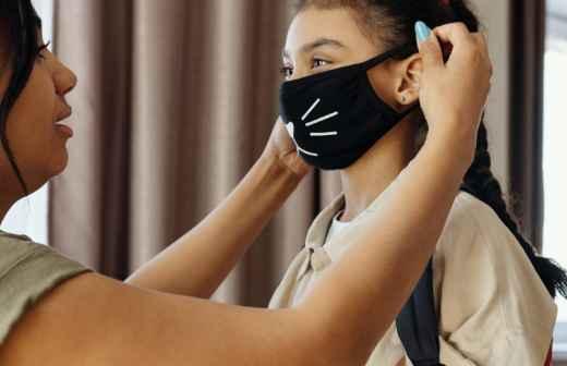 Máscaras Personalizadas - Guarda