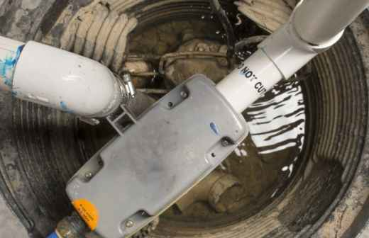 Instalação ou Substituição de Bomba de Água - Tanques
