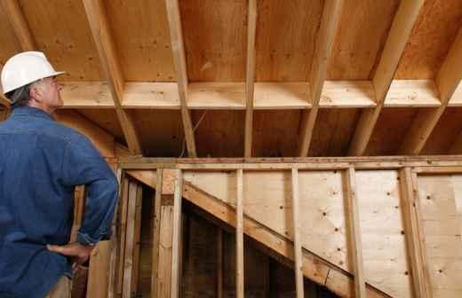 Construção de Parede Interior - Reparar