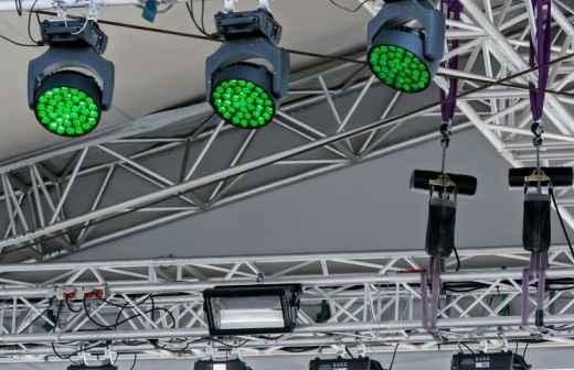 Aluguer de Equipamento de Iluminação para Eventos - Iluminação Indireta