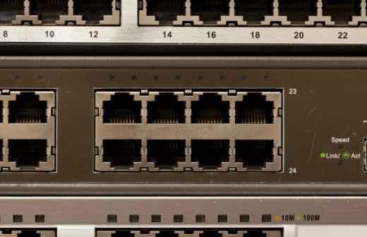 Instalação e Configuração de Router - Conetando