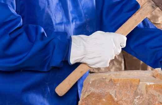 Colocação de Pedra - Porto