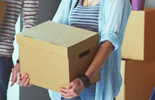Embalar e Desembalar Móveis - Contratando
