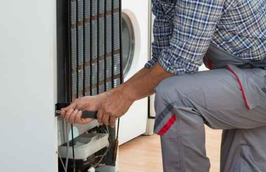Qual é o preço de reparação e instalação de Frigoríficos? Fixando