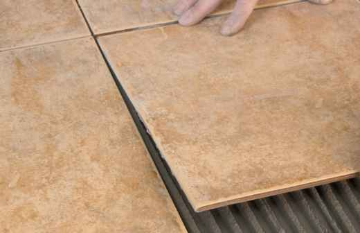 Instalação de Pavimento em Pedra ou Ladrilho - Marmorista