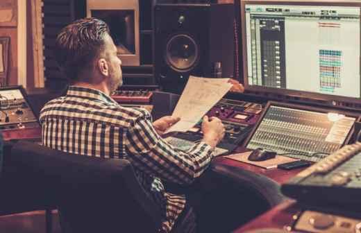 Aulas de Produção de Áudio
