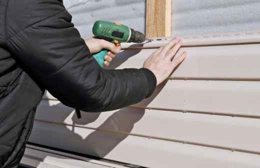 Instalação, Reparação ou Remoção de Revestimento de Parede - Fibra