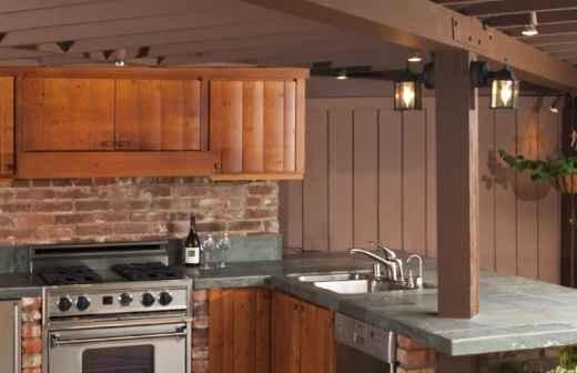 Remodelação ou Construção de Cozinha Exterior - Fachada Nova