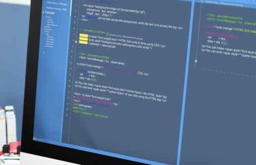 Qual é o preço de Web Design e Web Development? Fixando