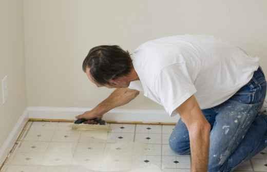 Reparação ou Substituição de Pavimento Vinílico ou Linóleo - Costura