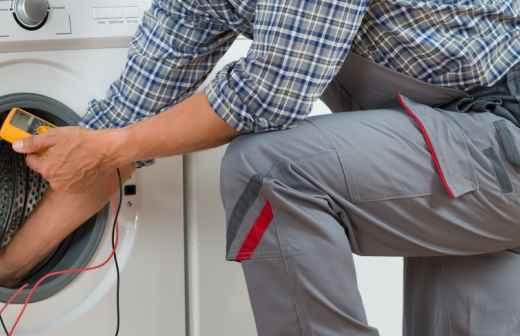 Qual é o preço de reparação e instalação de Máquinas de Lavar Roupa na Vidigueira? Fixando