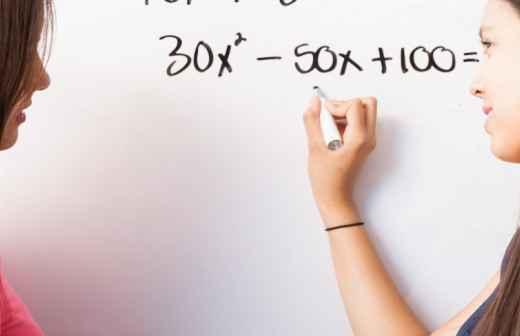 Explicações de Álgebra - Paços de Ferreira