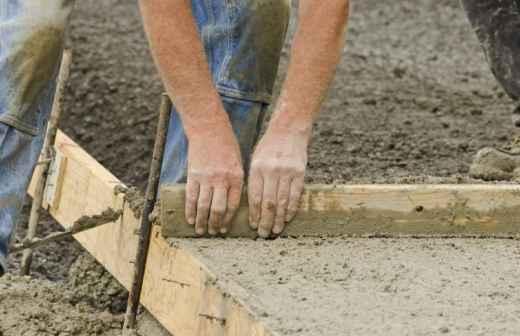 Reparação e Manutenção de Betão - Pavimentação