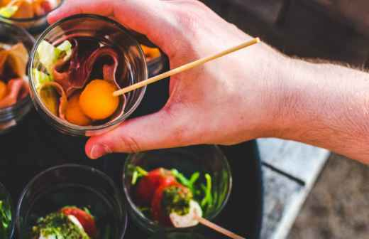 Catering para Eventos (Serviço Completo) - Almoços