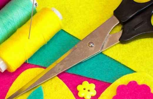 Aulas de Costura Artística - Costura