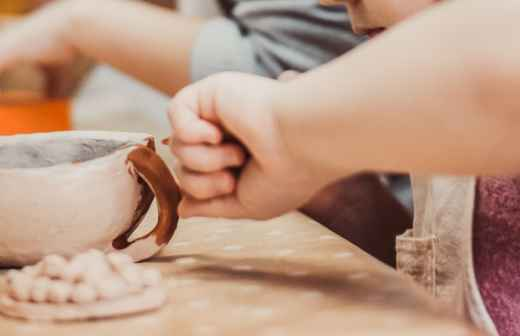 Aulas de Escultura - Areia