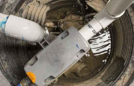 Reparação ou Manutenção de Bomba de Água
