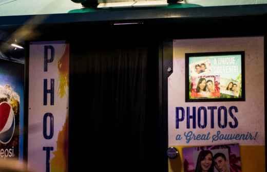 Aluguer de Cabine de Fotos - Toalha De Mesa