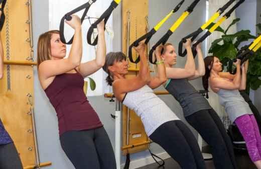Treino de TRX - Musculação