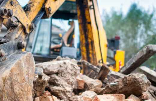 Demolição de Construções - Frente
