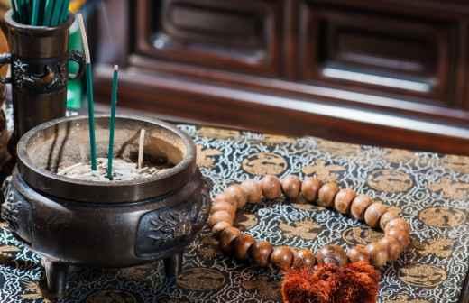 Qual é o preço de serviços de Espiritualidade? Fixando