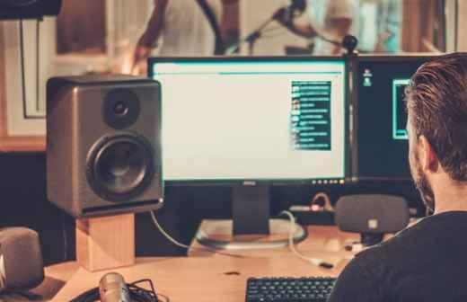 Gravação de Áudio - Produtores