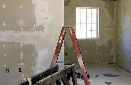 Qual é o preço de Remodelações e Construção? Fixando