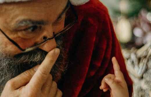 Entretenimento com Pai Natal - Máscara