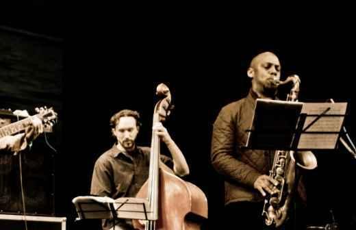 Entretenimento com Banda Jazz - Violinistas