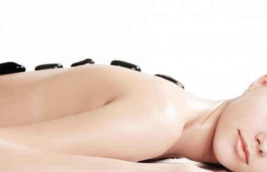 Massagem com Pedras Quentes - Massagem Profunda
