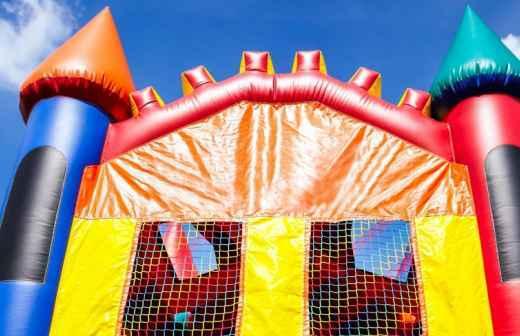 Aluguer de Casa-trampolim - Pequeno