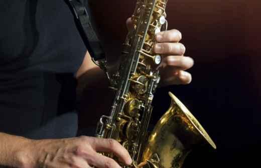 Aulas de Saxofone - Jogando