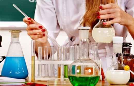 Explicações de Química - Barreiro