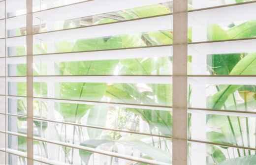 Instalação ou Substituição de Persianas - Vidros Novos