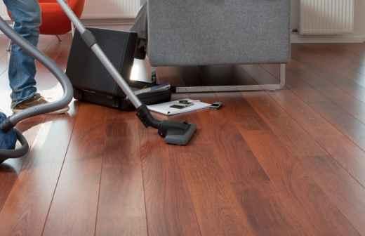 Limpeza de Apartamento - Prateleiras
