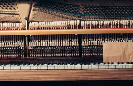 Mudança de Piano - Cordame
