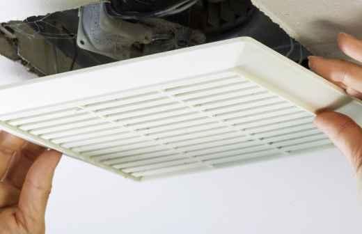 Instalação ou Substituição de Ventilador de Casa de Banho - Ventilador
