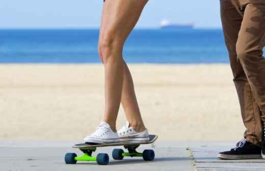 Aulas de Skate - Acampamento