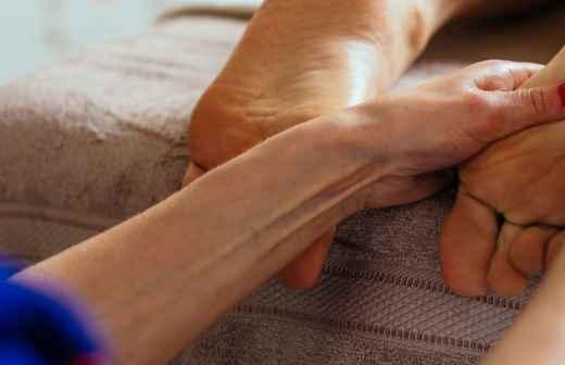 Massagem de Reflexologia