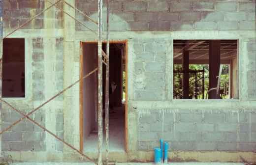 Construção Civil - Rebocando