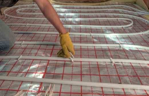 Instalação ou Substituição de Sistemas de Aquecimento - Pellets