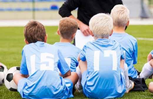 Aulas de Futebol - Acampamento